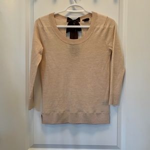 Club Monaco Tie Back Sweater